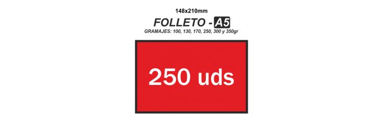 Folleto A5 - 250 unidades