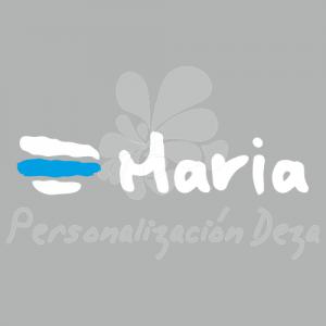 Bandera Galicia con nombre