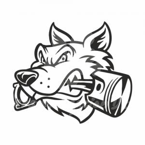 Lobo pistón