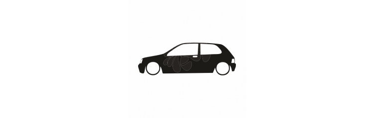 Renault Clio silueta