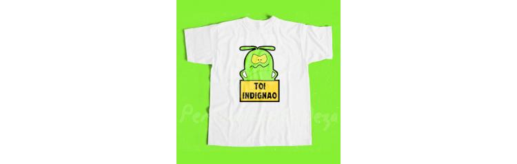 Camiseta Toi indignao